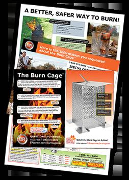 DR burncage Catalog Cover