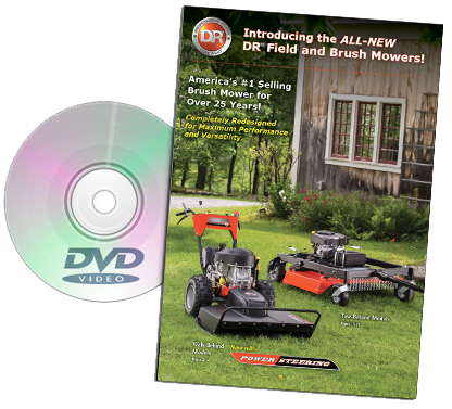 DR field-brush-mowers Catalog Cover
