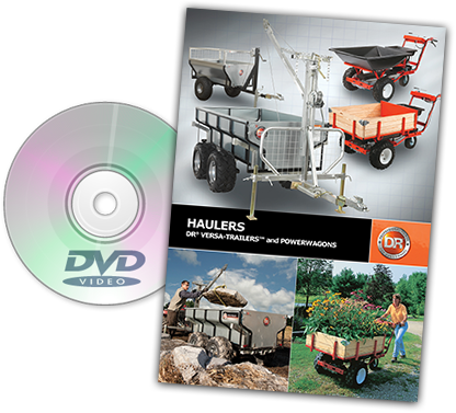 DR haulers Catalog Cover