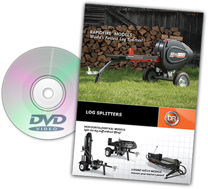 DR log-splitters Catalog Cover