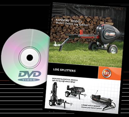 DR log-splitters Catalog Cover
