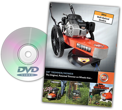 DR trimmer-mowers Catalog Cover