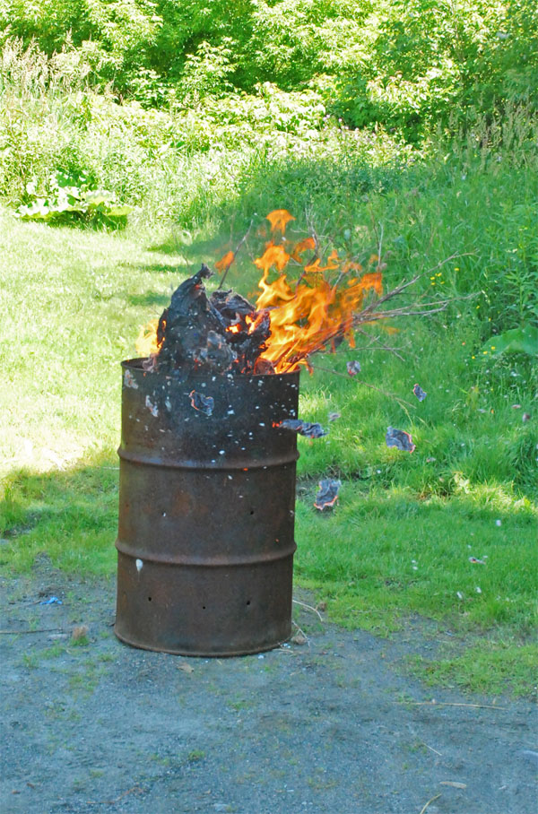 Burn-Barrel