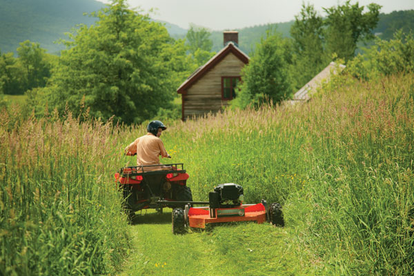 Can You Use A Brush Mower To Cut Grass Dr S Country Life Blog