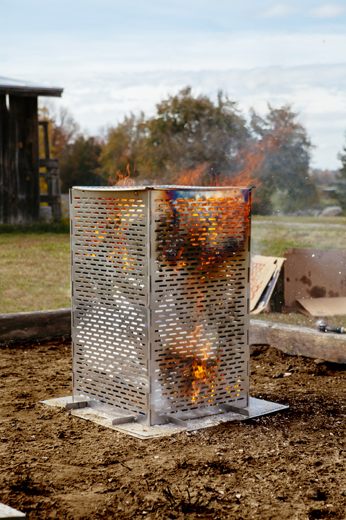 Burn Cage