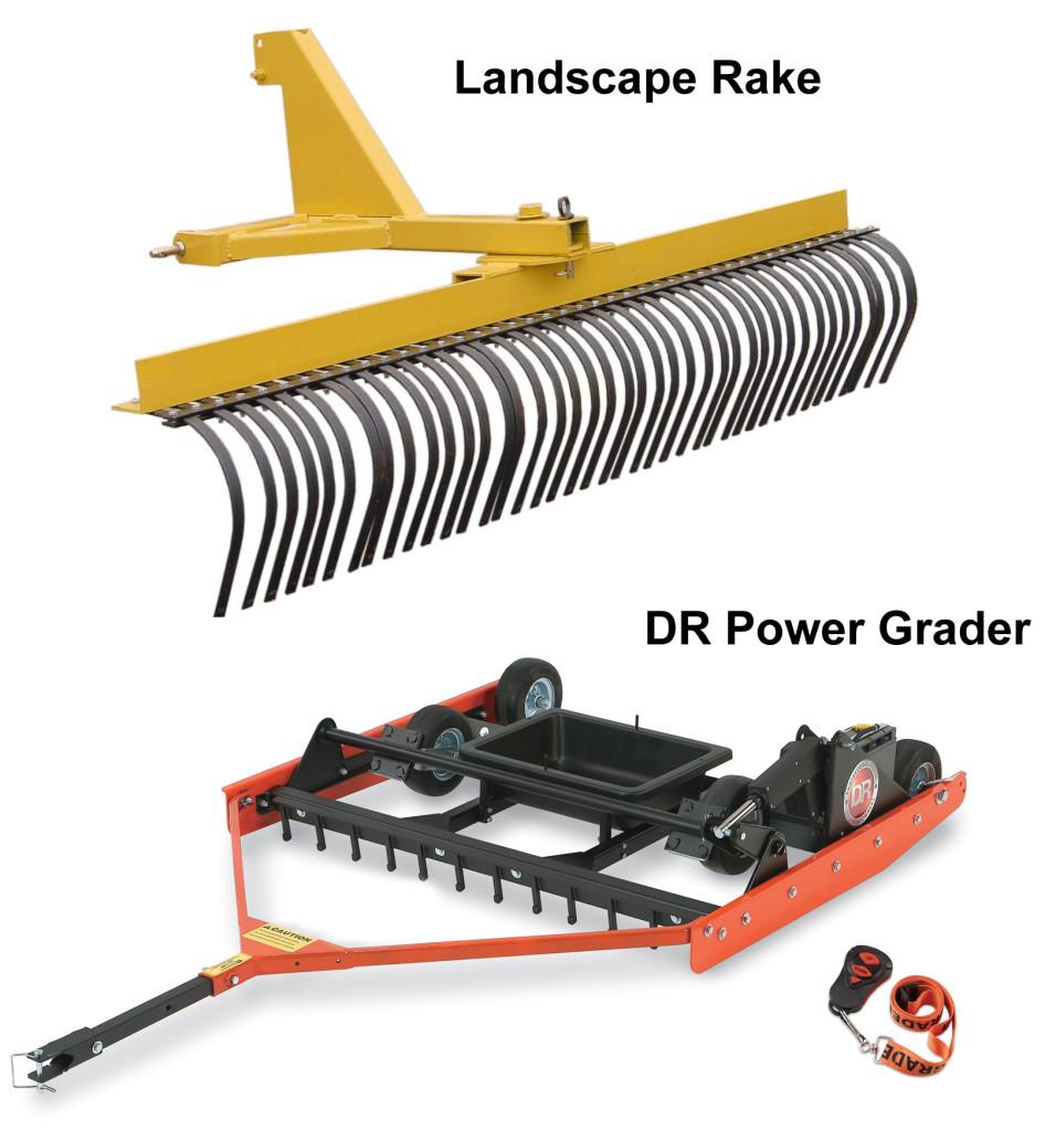 PGR and Landscape Rake