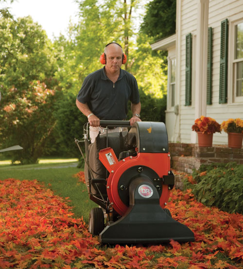 Leaf Vacuum Rental: Is It Worth It? - DR's Country Life Blog