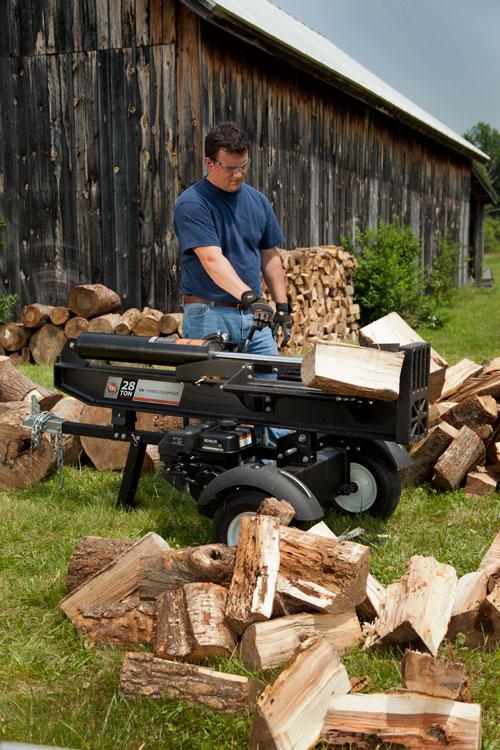 DR Hydraulic Wood Splitter