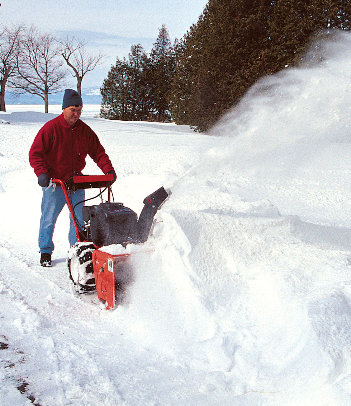 if you use a snowblower to clear your driveway and walkways, you may be  wondering what kind of gas is the best to use in it  for a small engine  that is