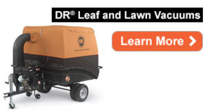 DR Leaf and Lawn Vacuums