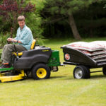 The DR Leaf and Lawn Vac Trailer is perfect for yard and farm!