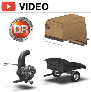 See the DR® Leaf & Lawn Vacuum Trailer in action!