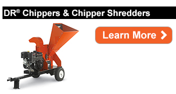 DR Power Wood Chippers and Chipper Shredders