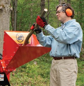 DR Wood Chipper Safety Gear