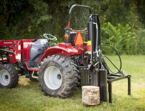 DR's new 3-Point Hitch Log Splitter