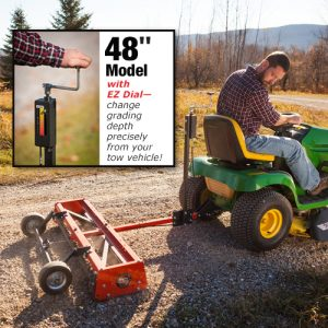 Utilizing the Towing Capability of your Riding Mower