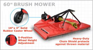 DR Power's New Tractor Attachments