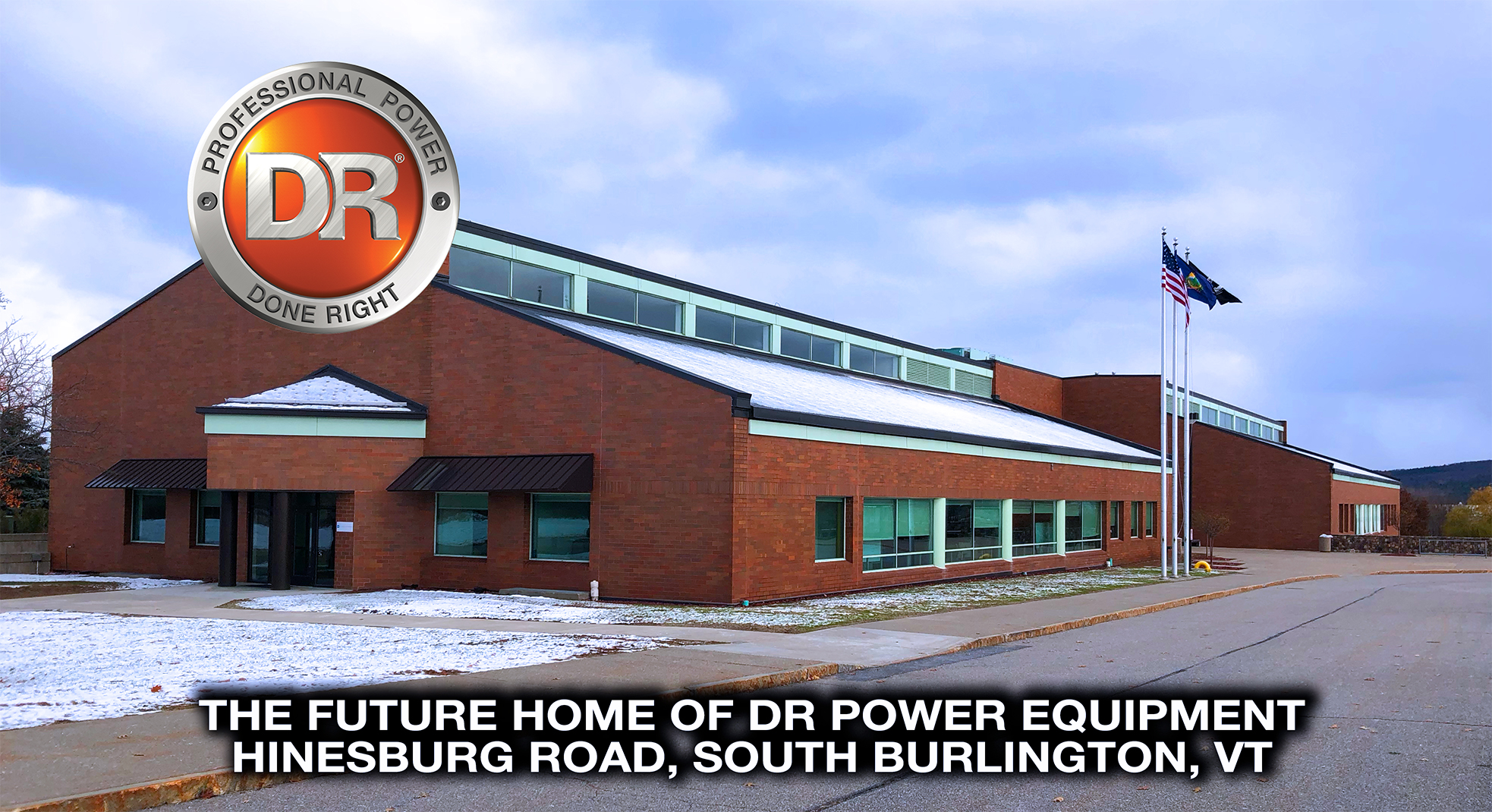 DR Power Equipment Moving Headquarters from Vergennes to